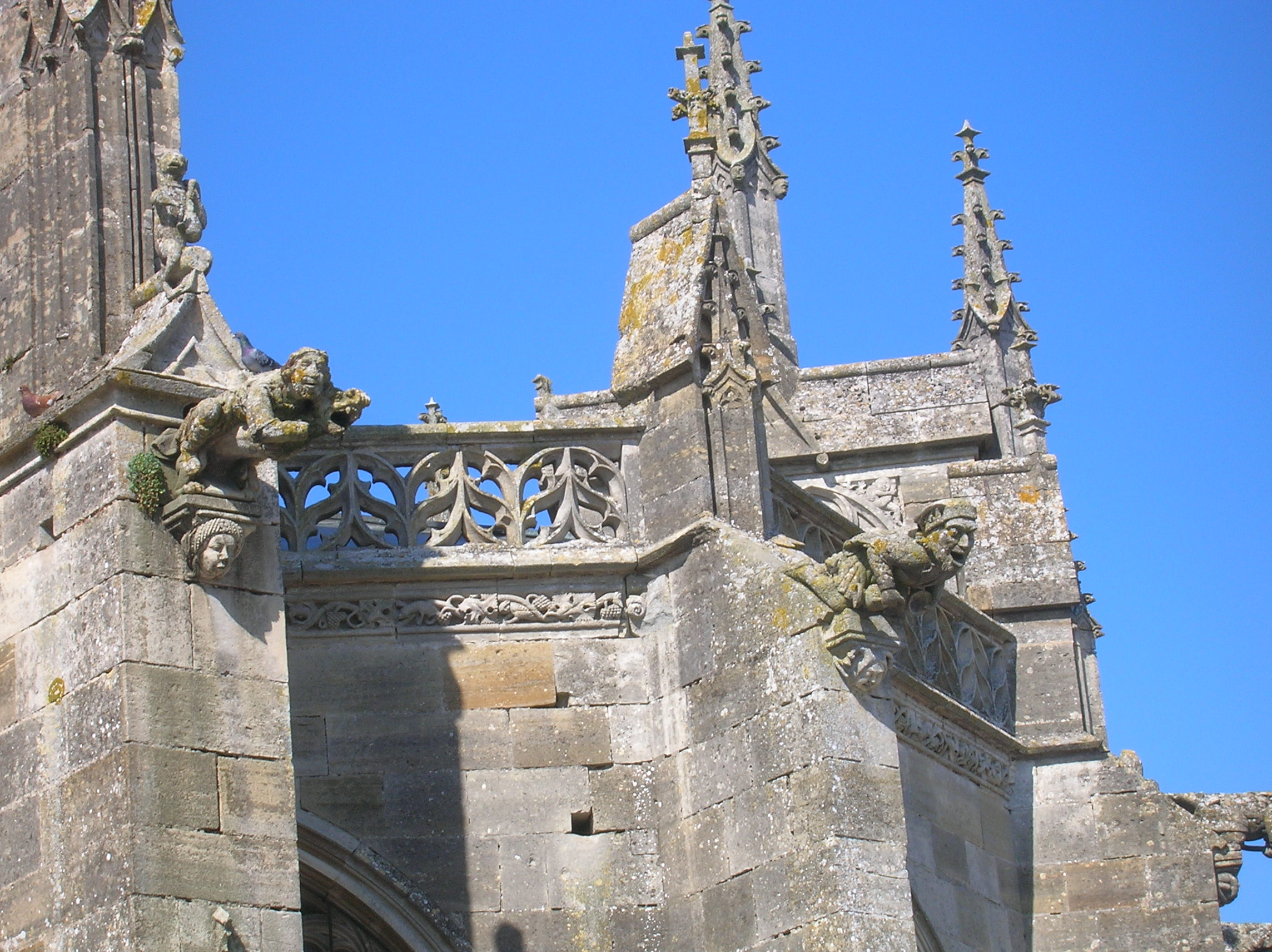 gargoyles at l'epine